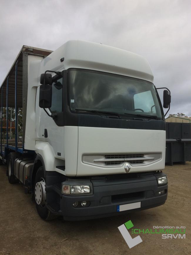 Tracteur Renault Premium 420 DCI pour le négoce